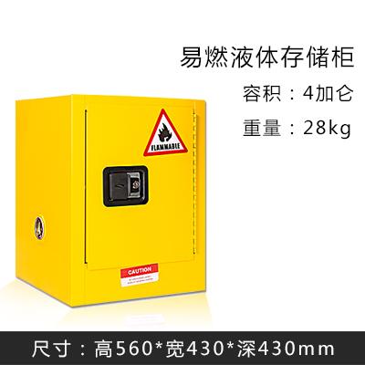 4加仑安全防爆柜